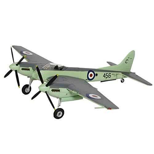 Kits Modelo De Rompecabezas Militares, 1/48 Scale De Havilland Sea Hornet NF21 Modelo De Plástico De Combate, 10 Pulgadas X 13.5 Pulgadas