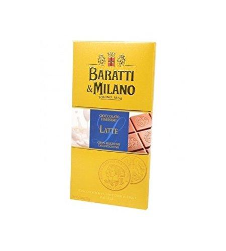 Baratti & Milano - TAVOLETTA CIOCCOLATO FINISSIMO AL LATTE 75GR