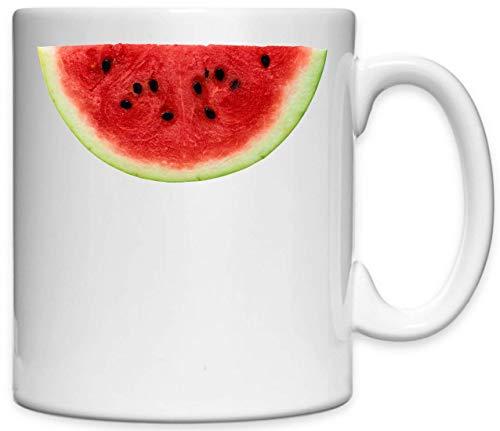 Atprints Watermelon Cross Section Fruit Taza de cerámica Impresa