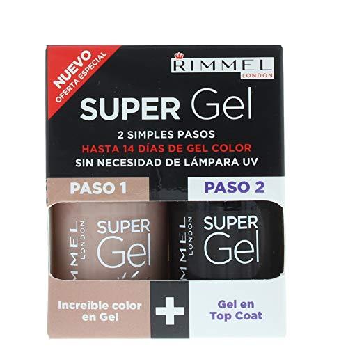 Rimmel Super Gel – Gel Color & Top Coat 2 x 12 ml – 012 Soul Session