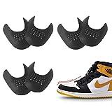 3 Pares de Escudos de Zapatos para Hombre, Prevendedores de Pliegues Abolladura de Zapatillas de Deporte Zapatos para Hombres 7-12, 3 Colores Protector para Contra Las Arrugas de Los Zapatos