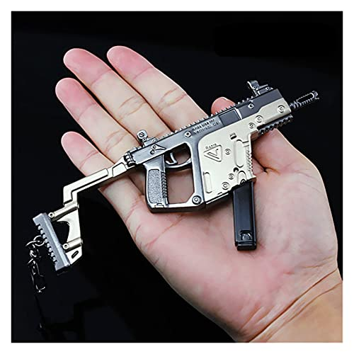 DEALBUHK PUBG 145mm Victor Vector Somethine Pistola Modelo Material de aleación de Percha de Juguete