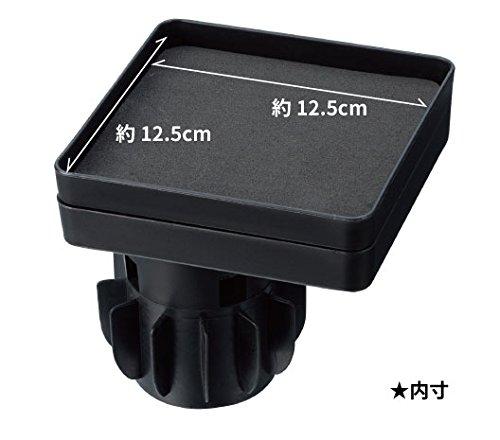 星光産業ドリンクホルダー車用カップイントレイSブラックEC-133