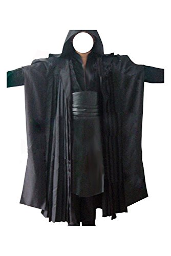 Disfraz de Darth Maul Sith para adultos, color negro, talla L