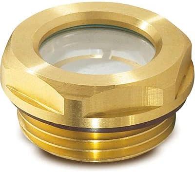 Brass Fluid Level Sight Ranking TOP9 w Topics on TV ESG Glass x Thre 1.5 Reflector - M16