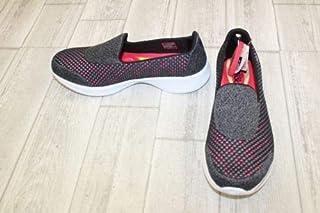 EmmetStore(TM) **Skechers Gowalk 4 Kindle Walking Shoes - Women's Size 9 - Black/Pink