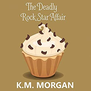 The Deadly Rock Star Affair (Cozy Mystery) audiobook cover art