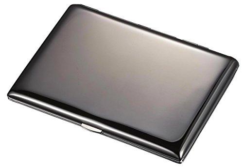 Visol Tristo Gunmetal 100mm Cigarette Case