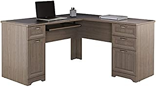 Realspace Magellan Collection L-Shaped Desk, Gray Item # 822239