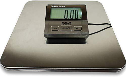 Bilancia pesa digitale professionale Futura 200 kg / 100 g alimentata da rete e batterie incluse