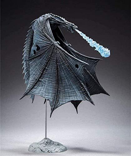 Cabilock [Arriba] Juego de Tronos Viserion Ice Dragon McFARLANE Modelo Figura de acción Colección Juguetes Niños Regalo para niños