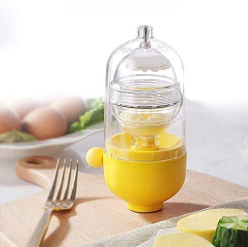 Golden Egg Machine Egg White Egg Yolk Mixer, Mix Egg Yolk and Egg White Without Damaging the Shell,Essential for Family