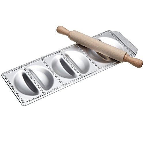 Kitchen Craft Imperia Raviolamp 'panzerotti' 6ps Art 316 Made in Italy Utensili da Cucina, Legno