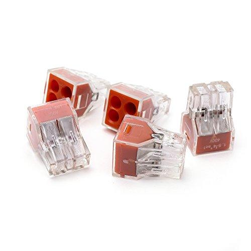suyep Push conector para cajas de empalmes 400V 18–12AWG pct-104/773–104