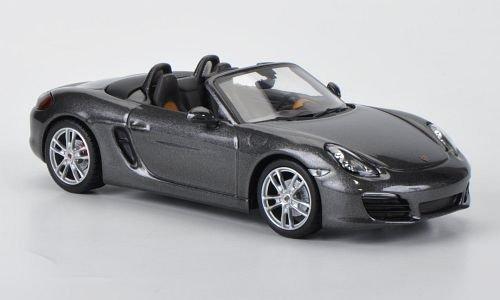 bester Test von porsche boxster s Porsche Boxster S (987) Dunkelgraues Metallic 2012 Automodell Abgeschlossenes Modell Minichamps 1:43