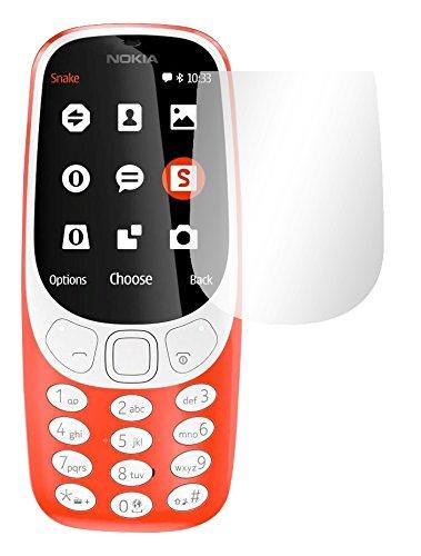 Slabo 2 x Bildschirmfolie für Nokia 3310 (2017) Bildschirmschutzfolie Zubehör Crystal Clear KLAR