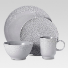 16pc Dinnerware Set Gray - Threshold™ : Target