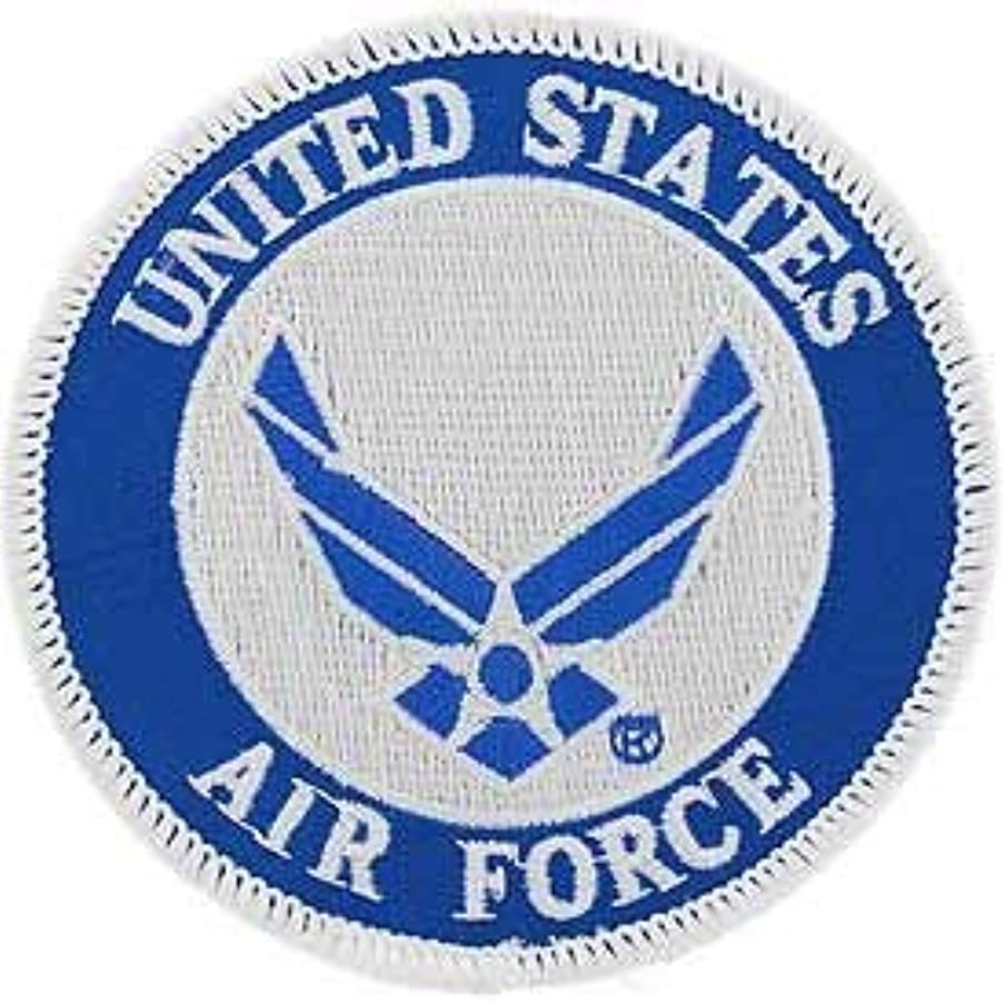 USAF, United States Air Force Symbol - Embroidered Patches, Premium Quality Iron On Patch - 3