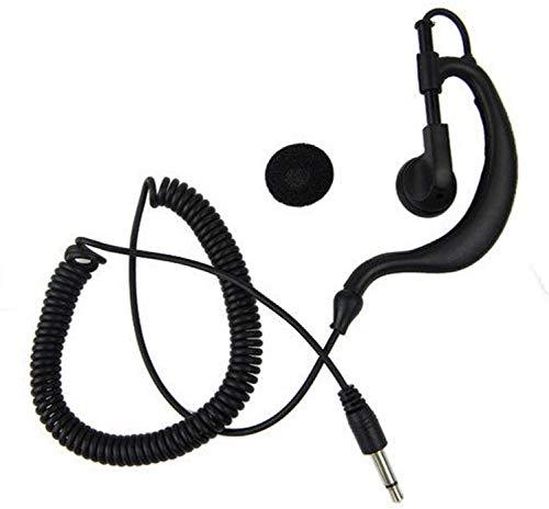 Movilideas - Auricular para walkie Solo Escuchar sin microfono, Conector de 3.5mm