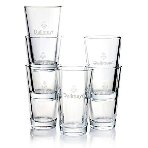 Dallmayr Latte Macchiato Gläser 0,27l Kaffeegläser 12 Stück