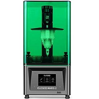 ELEGOO Mars 2 Mono MSLA 3D Printer UV Photocuring LCD Resin 3D Printer with 6.08 inch 2K Monochrome LCD, Printing Size 129X80X160mm/5.1X3.1X 6.3inch (B08M3H4JRJ) | Amazon price tracker / tracking, Amazon price history charts, Amazon price watches, Amazon price drop alerts