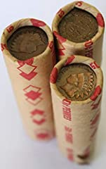 roll wheat cents INDIAN ENDS