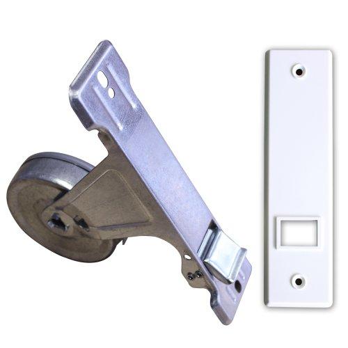 Gurtwickler inkl. Abdeckplatte Lochabstand 160mm bis 8m Gurt (für 20-24mm Gurtband)