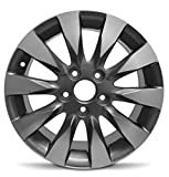 Road Ready Car Wheel For 2009-2011 Honda Civic 16 Inch 5 Lug chrome Aluminum Rim Fits R16 Tire - Exact OEM Replacement - Full-Size Spare
