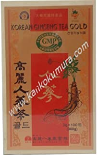 高麗人蔘茶(木箱)(3g×100包入り) 300g