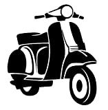 generisch Motorrad Aufkleber Roller Motorroller Aufkleber Auto Aufkleber in 10cm, 15cm, 20cm, 25cm...
