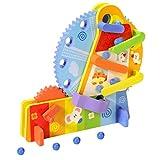 TOYANDONA Kinder Riesenrad Spielzeug Ball Drop Wheel Spielzeug Frühen Stiel Entwicklung Spielzeug...