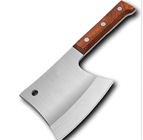 Cuchillos cocina juego Cortar forjadas cocina hacha de cortar acero inoxidable cuchillo de cocina hechos a mano profesional cuchillo de carnicero cocinero del hotel