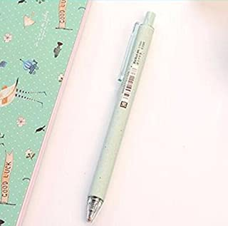 Royare of School Supplies 3Pcs/Set Quick Drying Gel Pen Kit Signing Pen Student Stationery Supplies (Green)