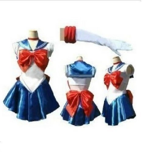 Ultra Narikiri! Usagi Tsukino style Cosplay - Costume da Sailor Moon, uomo, taglia L (Japan Import)