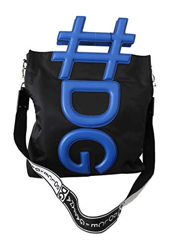 Dolce & Gabbana Herren Tasche Men Bag Black Blue #DG Men Shoulder Strap Shopping Tote Bag