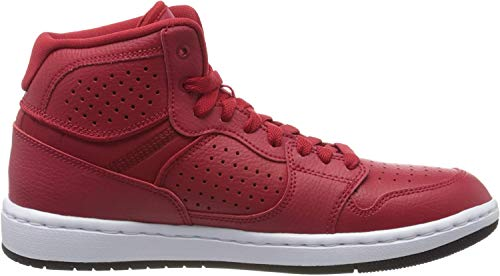 Nike Herren Jordan Access Hohe Sneaker, Mehrfarbig (Gym Red/Black-White 600), 45 EU