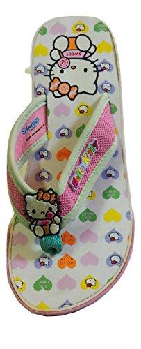 Sanrio - Sandalias de Material Sintético para niña 25 Size: 33/34