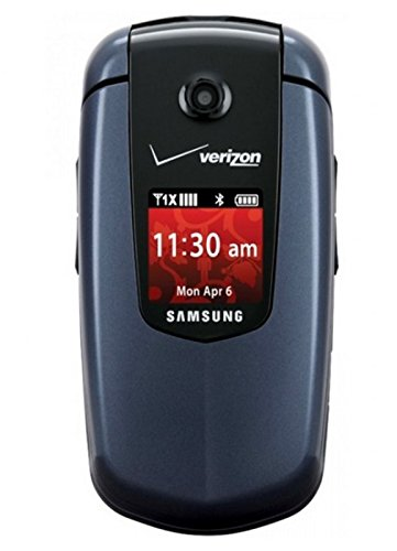 Verizon or PagePlus Samsung Smooth U350 Great Condition Blue CDMA Cell Phone
