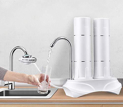 JIEJIE Grifo Filtro Filtro Cocina casera de Agua del Grifo purificador de Agua Filtro purificador de Agua de Ducha con grifos estándar Adapta QIANGQIANG
