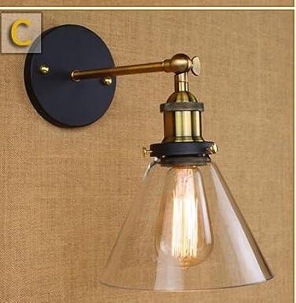 Amazon.fr : applique vintage loft - Éclairage de salle de bain ...