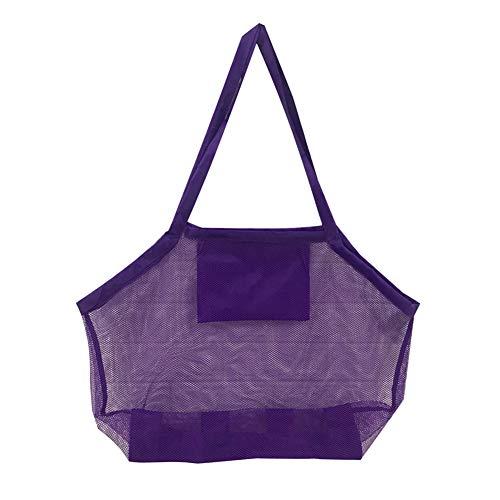 SANGSHI Protable - Bolsa plegable para deportes de natación, para adultos, para actividades al aire libre, playa, con red de almacenamiento para juguetes