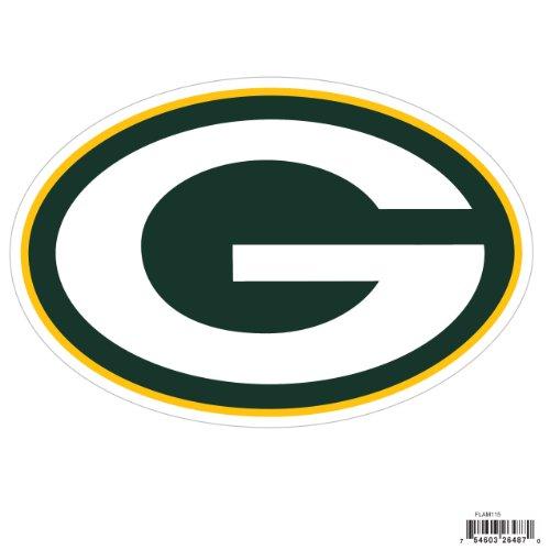 Siskiyou NFL Sports Fan Shop Green Bay Packers Logo Magnets 8 inch Sheet Team Color