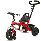 GoodLuck Baybee - 2 in 1 Convertible Baby Tricycle Kid's Trike with Parental