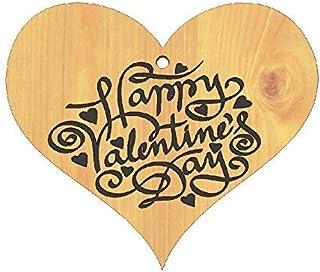 CUORE da appendere in legno Idea Regalo San Valentino Love Amore