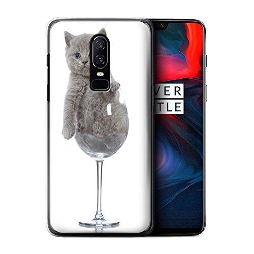 Stuff4 Var voor Leuke Kittens 1PLUS-CC OnePlus 6 Wine Glass