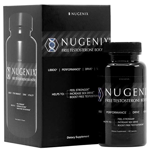 Nugenix Free Testosterone Booster for Men, 42 Count