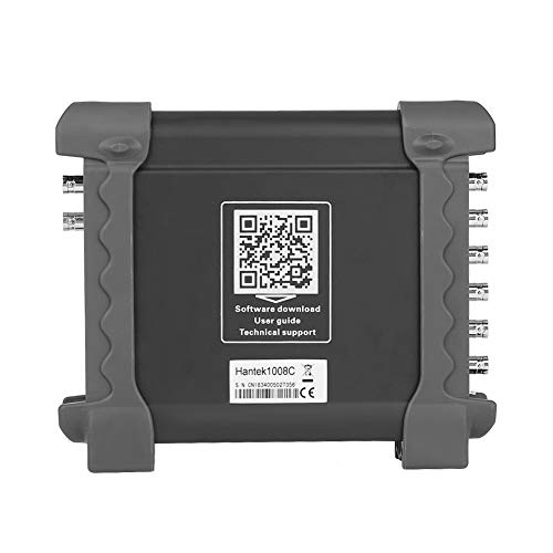 Hantek Virtual Automotive Oszilloskop 1008C 8 Kanal Virtuelle Automotive USB Oszilloskop DAQ Signal Generator Fahrzeug Auto Diagnose Zündung/Sensor/Bus Erkennung 78 Auto Test Funktionen