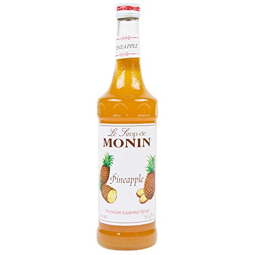 Monin Pineapple Syrup, 750 ml