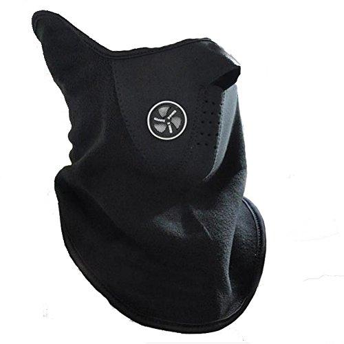 Boolavard Máscara de Protección Facial de Neopreno Cuello Nariz Deporte Motociclismo Esquí