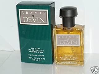 Aramis Devin (Original Formula) Men 3.7 oz Country Eau de Cologne Spray